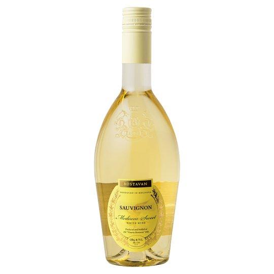 Bostavan Sauvignon Medium Sweet White Wine 750ml