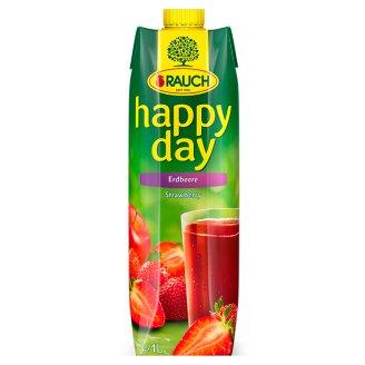 Rauch Happy Day Vícedruhová ovocná šťáva z jahodového pyré 1l