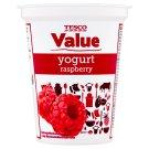 Tesco Value Jogurt malinový 330g