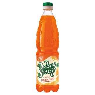 Dobrá voda Dobrý sirup s příchutí pomeranč 0,7l