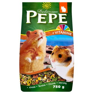 Pepe Delicious Rich Complete Food for Hamsters 750g