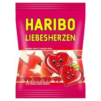 Haribo Liebesherzen želé cukrovinky s ovocnou příchutí s pěnovým cukrem 100g