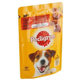 Pedigree Vital Protection Complete Feed for Adult Dogs with Beef in Jelly 100g