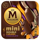 Magnum Mini Double Caramel Chocolate Ice Cream 6 x 60ml