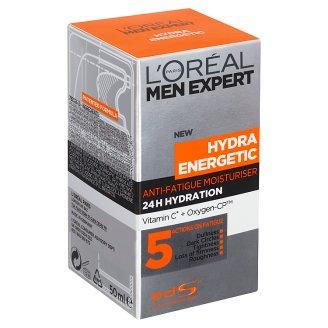 image 1 of L'Oréal Paris Men Expert Hydra Energetic Anti-Fatigue Moisturiser 50ml