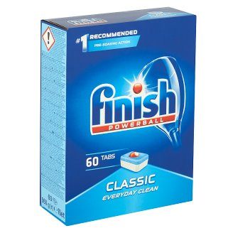 Finish Powerball Classic tablety do myčky nádobí 60 ks 978g