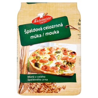 Küchenmeister Špaldová celozrnná mouka 1kg