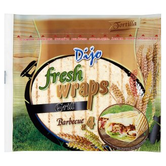 Dijo Fresh Wraps Grill Barbecue 4 pcs 250g