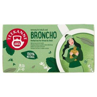 TEEKANNE Broncho Herbal Tea for Throat & Chest, 20 Bags, 40g