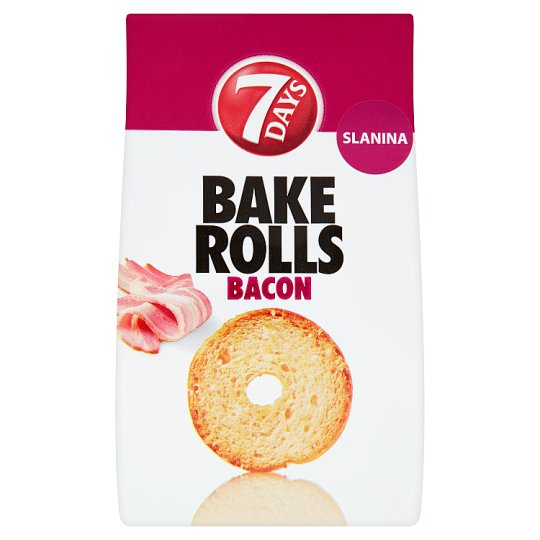 7 Days Bake Rolls slanina 80g
