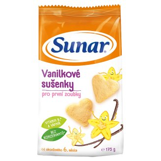 Sunárek Vanilla Biscuits for First Teeth 175g