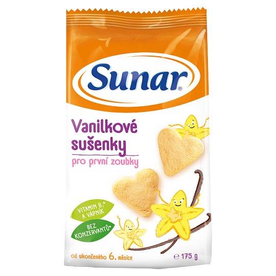 Sunárek Vanilkové sušenky pro první zoubky 175g
