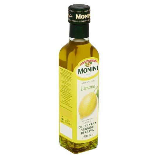Monini Dresink s extra panenským olivovým olejem s citrónovou příchutí 250ml