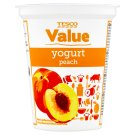 Tesco Value Yogurt Peach 330g