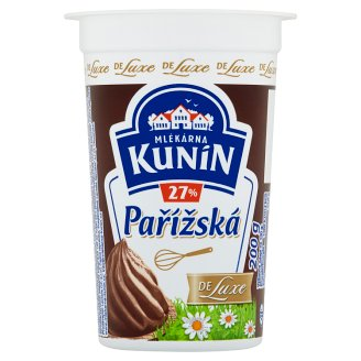 Mlékárna Kunín Pařížská šlehačka 27% 200g
