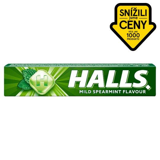 Halls Dropsy s mátovou příchutí 33,5g