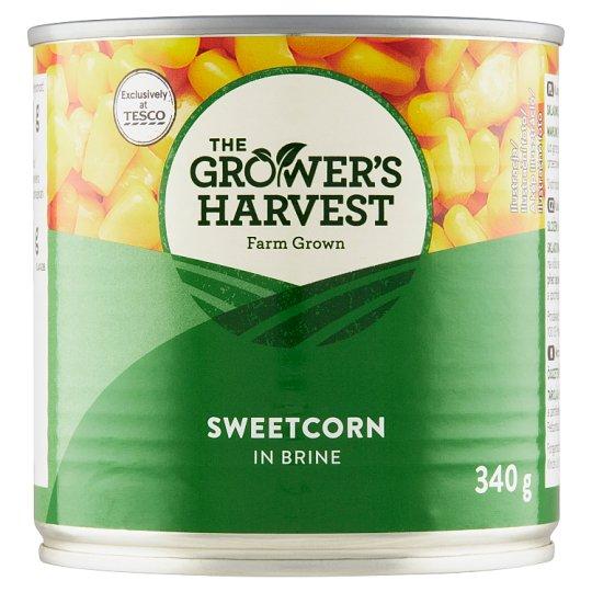 The Grower's Harvest Sweetcorn in Brine 340g