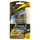 Wilkinson Sword Xtreme3 Black Edition Disposable Swift 3 Blade Razor 4 pcs
