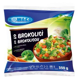 Nowaco Zeleninová směs s brokolicí 350g
