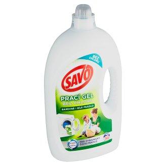 Savo Bez chlóru Universal prací gelna barevné abílé prádlo50 praní
