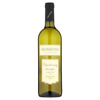 Moravíno Valtice Chardonnay víno s přívlastkem pozdní sběr bílé suché 0,75l