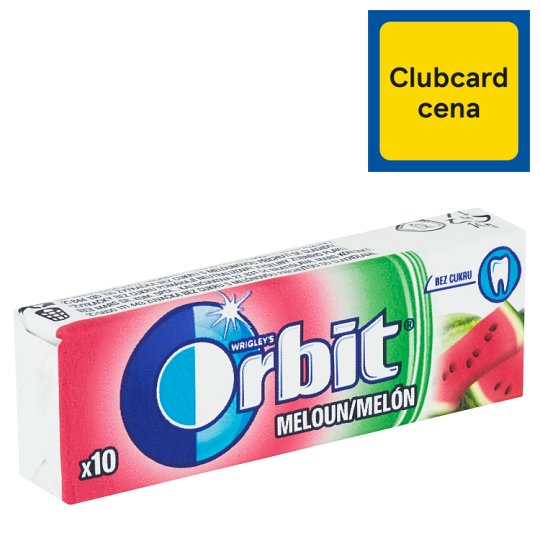 Wrigley's Orbit Meloun 10 ks 14g