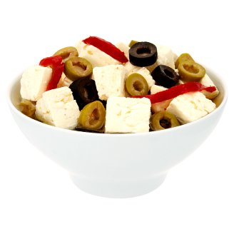 Balsýr in Oil with Olives and Peppers