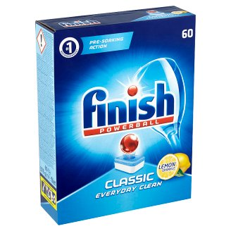 Finish Powerball Classic Lemon tablety do myčky nádobí 60 ks 978g