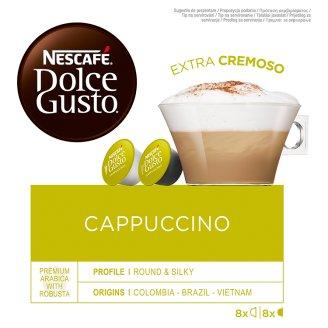 NESCAFÉ® Dolce Gusto® Cappuccino - kávové kapsle - 16 kapslí v balení
