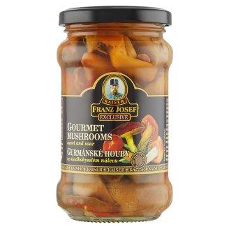 Kaiser Franz Josef Exclusive Wild Forest Mix Mushrooms in Sweet and Sour Brine 280g