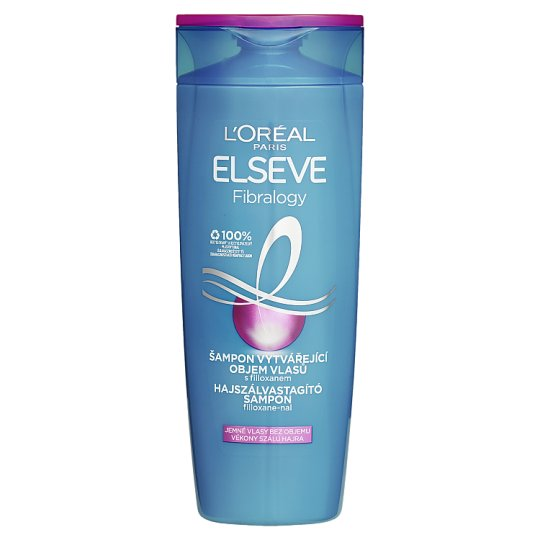 L'Oréal Paris Elseve Fibralogy Shampoo Producing Hair Mass 400ml