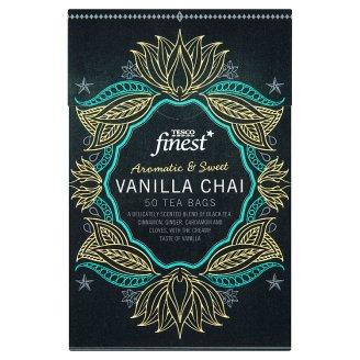 Tesco Finest Ochucený černý čaj aromatizovaný porcovaný 50 sáčků 125g