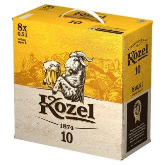 Velkopopovický Kozel Světlé pivo výčepní 8 x 0,5l