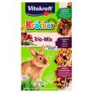 Vitakraft Kräcker Trio-Mix Rabbit - Vegetables & Walnut & Berries 3 x 56g
