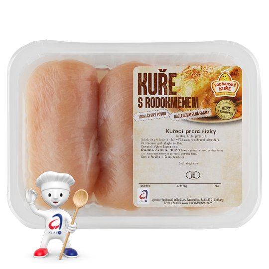 Vodňanské Kuře Chicken Breast Fillets with Pedigree