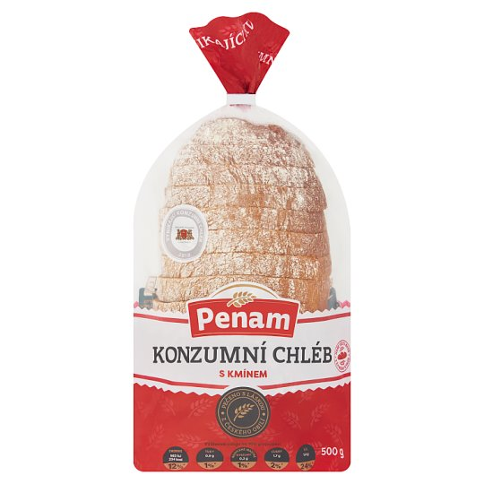 Penam Canned Bread with Cumin 500g