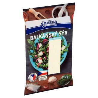 Madeta Balcan Cheese without Flavour 115g