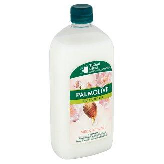 Palmolive Naturals Tekuté mýdlo s výtažky mandlí a aloe vera náhradní náplň 750ml