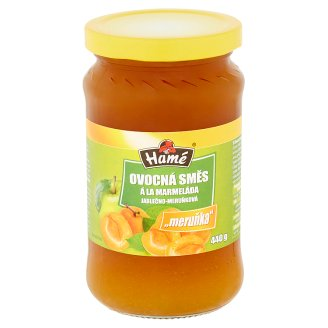 Hamé Fruit Mix Apple-Apricot á la Jam 440g