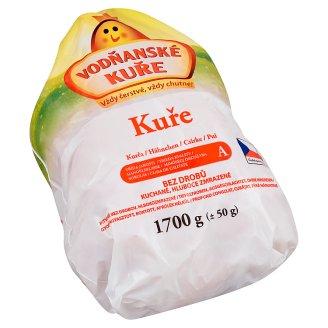 Vodňanské Kuře Chicken without Offal, Gutted, Deep Frozen 1700g