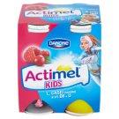 Danone Actimel Kids jogurtové mléko malinovo-brusinkové 4 x 100g