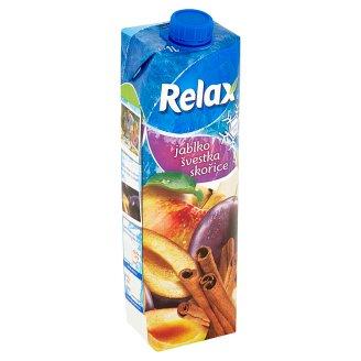 Relax Jablko švestka skořice 1l