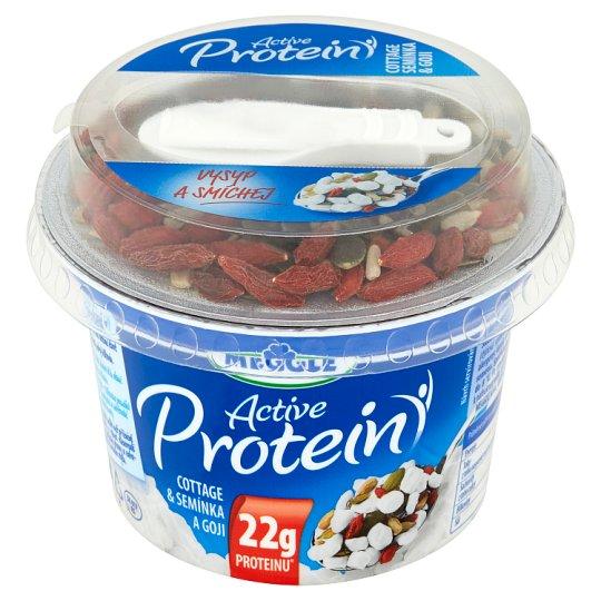 Meggle Active Protein Cottage & semínka a goji 170g