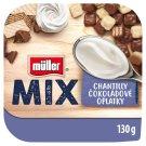 Müller Mix Choco Waffles slazený jogurt se smetanovou příchutí 130g
