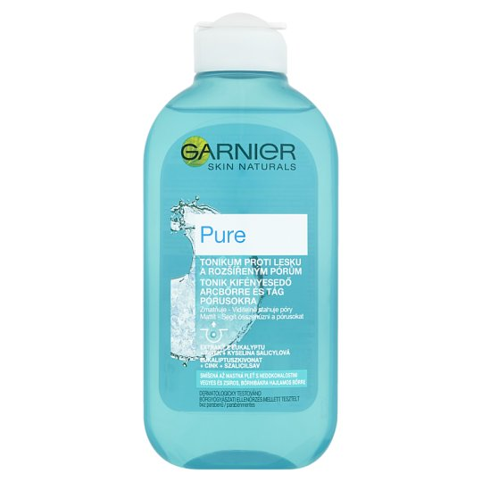 Garnier Skin Naturals Pure Anti-Gloss Toner and Extended Pores 200ml