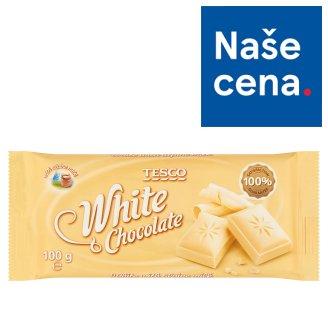 Tesco White Chocolate 100g