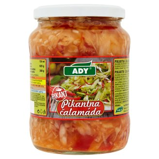 Ady Spicy Pickles 620g