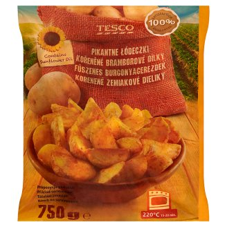 Tesco Spicy Potato Pieces 750g