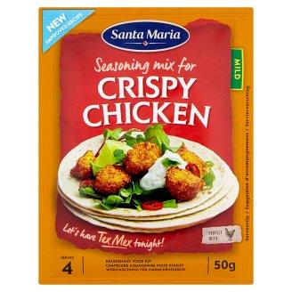 Santa Maria Crispy chicken mild kořenící přípravek 50g