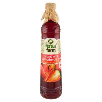 Natur Farm Ovocný sirup s jahodovou šťávou 0,7l